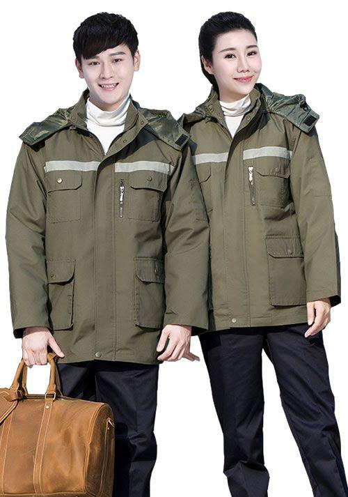 定制冬季工作服时有哪些款式可以选择-
